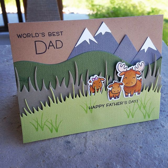World's Best Dad | Lawn Fawn Stamp Set | Houston McGuirk | Flickr