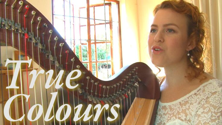 True Colors is a beautiful song that is appropriate for any occasion and is perfect for harp and voice :)