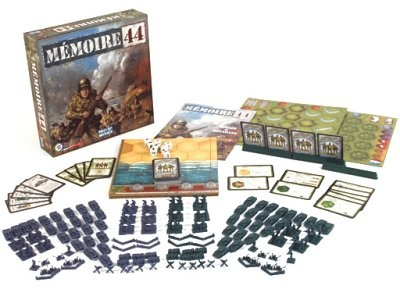 Memoir '44 - Perfect game to replay most famous WWII battles in less than one hour.