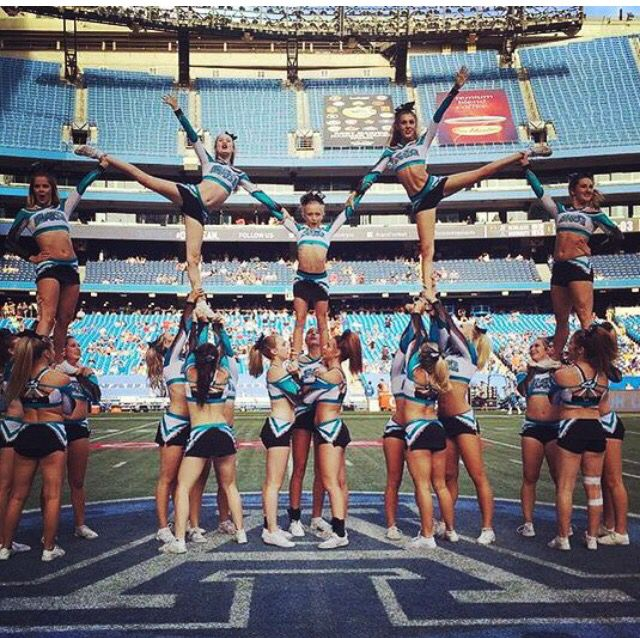 REPIN if you love cheerleading pyramids too! For tons of stunting tips, check out CheerleadingInfoCenter.com