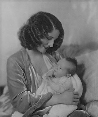 It's Norma! with her first born, Irving Jr.