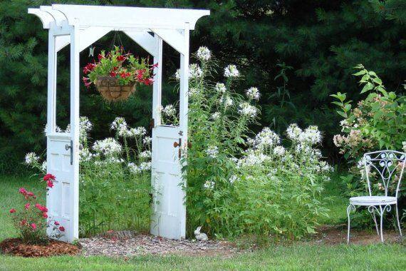 Jeanne Sammons' original door arbor started it all