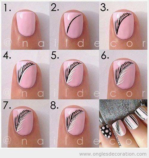 Aujourd'hui je veux vous présenter des modèles de dessin sur ongles appelé nail art car c'est vraiment un art qui peux aller du simple et fa...