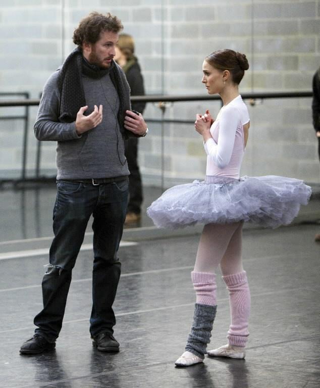 Darren Aronofsky y Natalie Portman . Black Swan