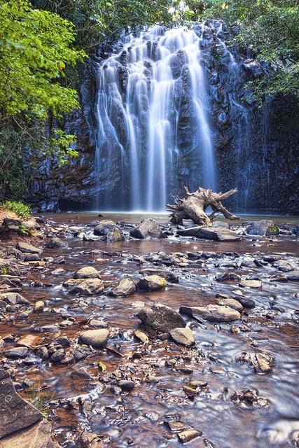 ellinjaa falls Queensland, Australia