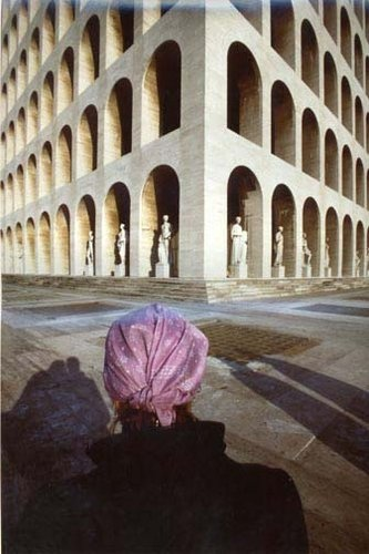 perspective by franco fontana, untitled, roma, 1979