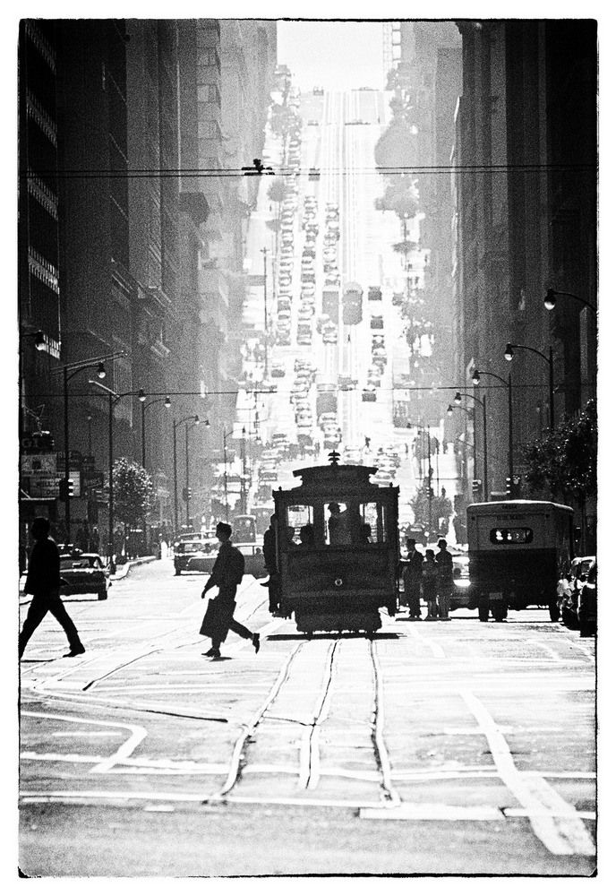 Cable Car line, San Francisco - Amazing Midcentury Photographs of San Francisco  Best of Web Shrine
