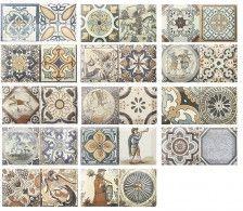 Интерьер фабрики Monopole коллекция плитки для кухни Antique ID-1302