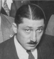 """Frank """"The Enforcer"""" Nitti Organized Crime Figure. The number 2 man for famed gangster Al Capone, he was born about 1883 in Italy. He started as a barber, but became involved in the Chicago gang started by Capone when he was asked to fence some stolen jewelry."""