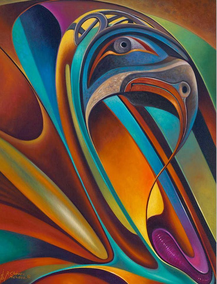ricardo chavez-mendez | Abstractos Modernos, Pinturas de Flores, Ricardo Chávez…