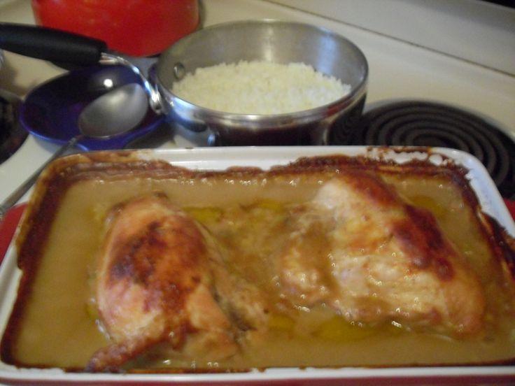 Chicken breast cream of celery