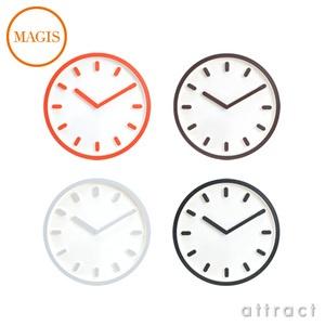 MAGIS/マジスTEMPO/テンポWallClock/ウォールクロックΦ30cmAC510カラー:オレンジ、ブラウン、グレー、ブラックデザイン:深澤直人(壁掛け時計・デザインクロック)