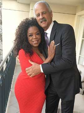 Oprah Winfrey Flaunts Slimmed Figure in Photo with Valentine Stedman Graham