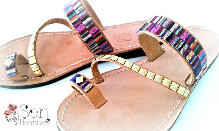 ethnic collection... handmade leather sandals