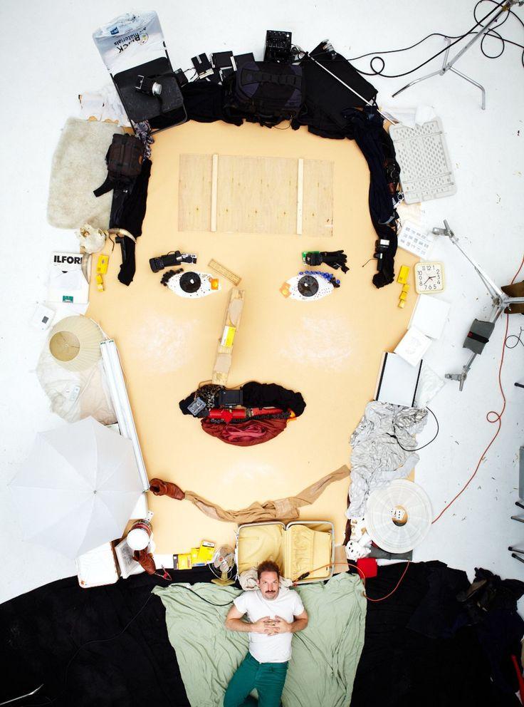 Self portrait by Dan Busta