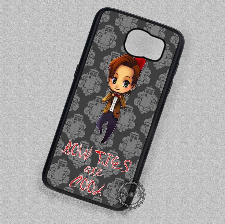 Funny Quote Bow Ties Doctor Who - Samsung Galaxy S7 S6 S5 Note 5 Cases & Covers