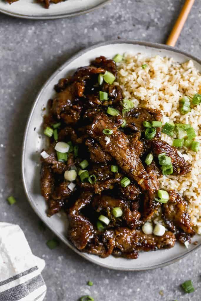 Mongolian Beef Recipe Mongolian Beef Recipes Health Dinner Recipes Beef Recipes