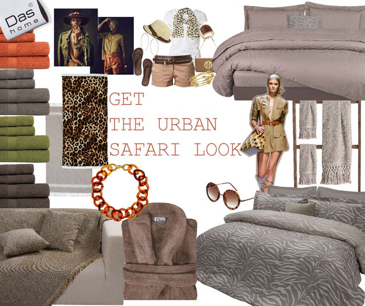 Get the Safari look ..by Das home !!