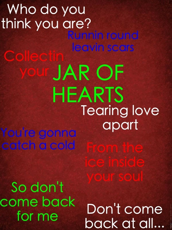 Jar of Hearts lyrics