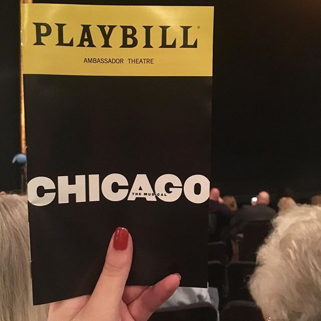 Tonights Broadway Play Chicago Looking Forward To All The Ol