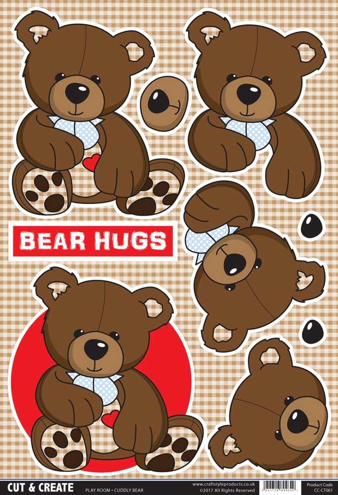 Buzzcraft Play Room Cut & Create - Cuddly Bear