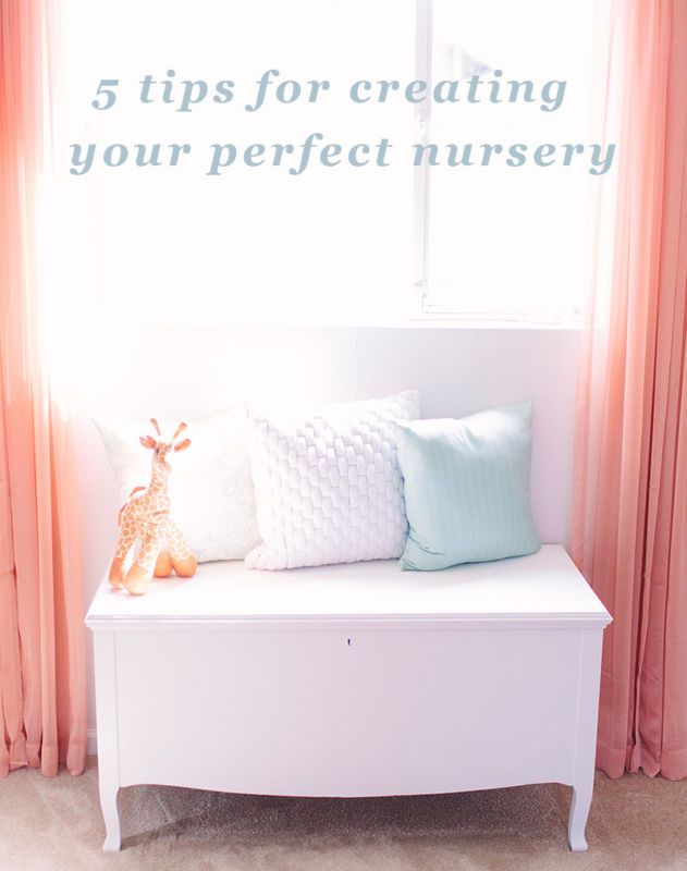 Create the perfect space for your little one with 5 simple steps