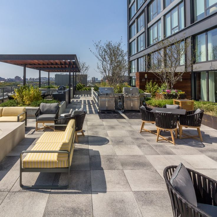 Umbriano Amenity Space Outdoor Gathering Space Modern Condo Space Architecture