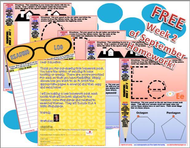 Kindergarten Calendar Common Core : Best homework images on pinterest common core math