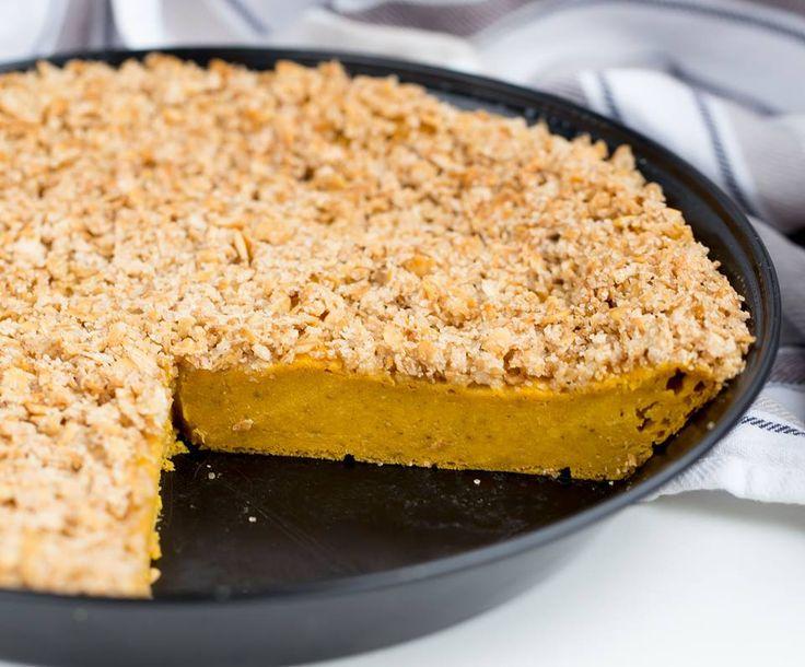 Vegan, soja- und glutenfrei! Dieser Süßkartoffel Streusel Kuchen ist so einfach zu machen und doch so lecker - nachbacken lohnt sich!