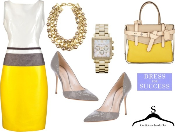 Dress for Sucess, created by sophiemouskou on Polyvore