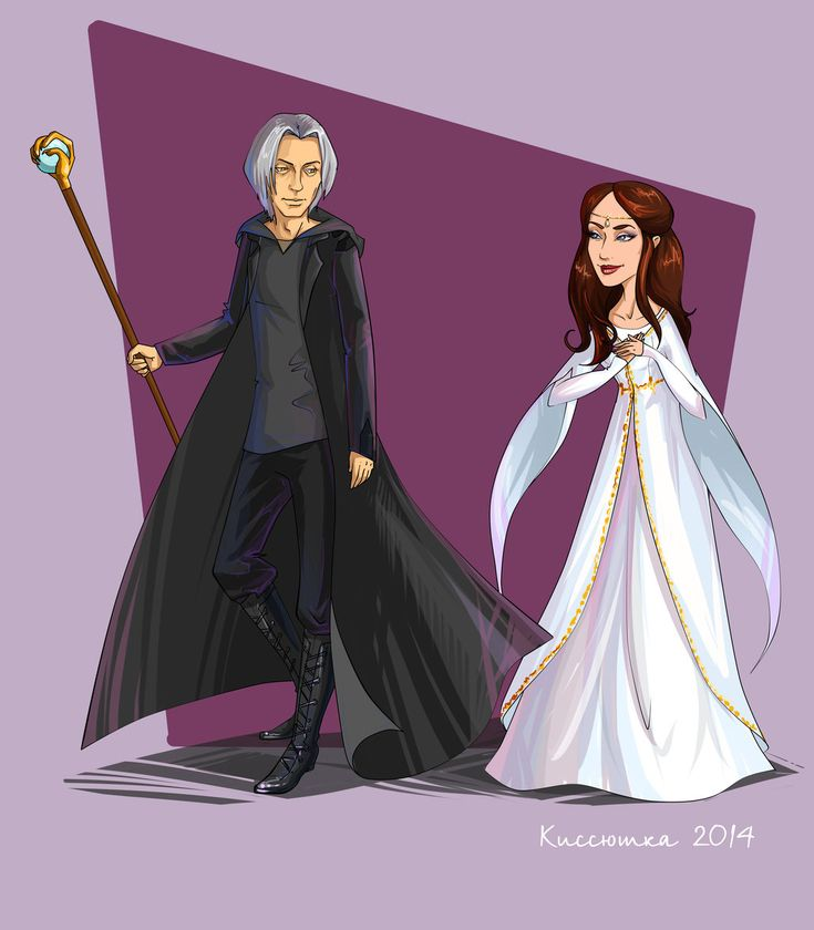 Raistlin and  Crysania 03 by kissyushka.deviantart.com on @DeviantArt
