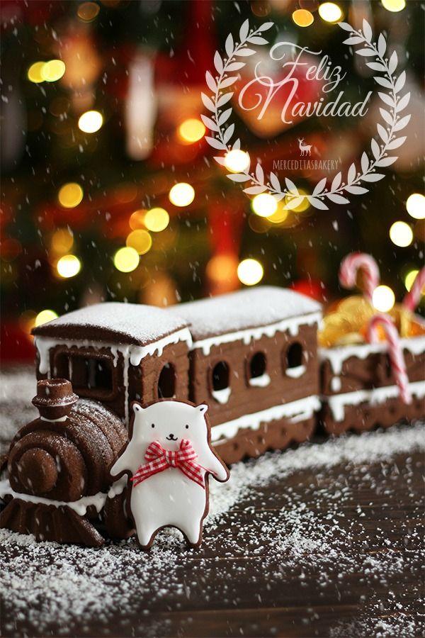 Tren de jengibre especial Navidad                                                                                                                                                                                 More