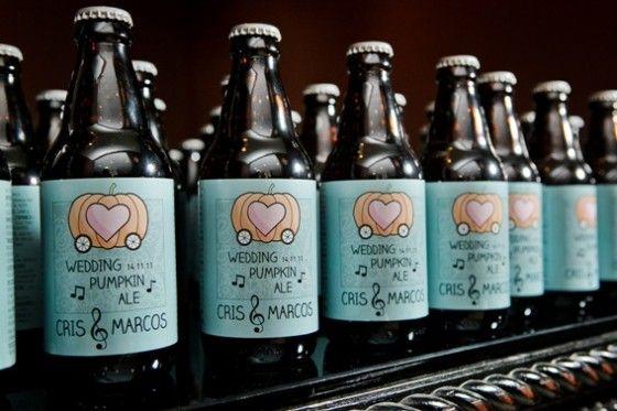 Lembrancinha: Cerveja Artesanal #wedding #casamento