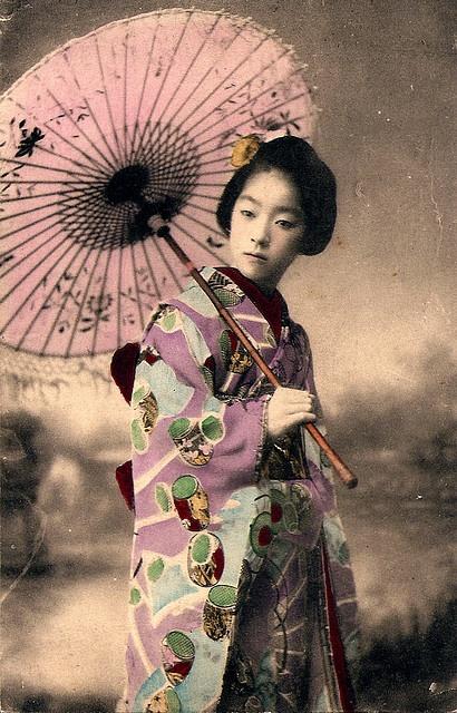 Geisha Girl, Japan