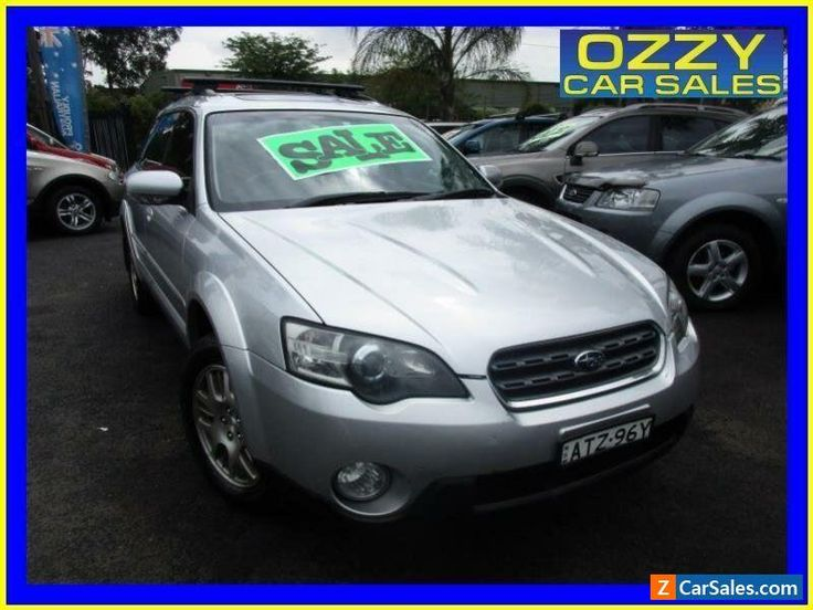 2005 Subaru Outback MY05 2.5I Premium Silver Automatic 4sp A Wagon #subaru #outback #forsale #australia