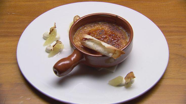 Official MasterChef Australia recipe - Jerusalem Artichoke Crème Brulee by Amelia Jackson