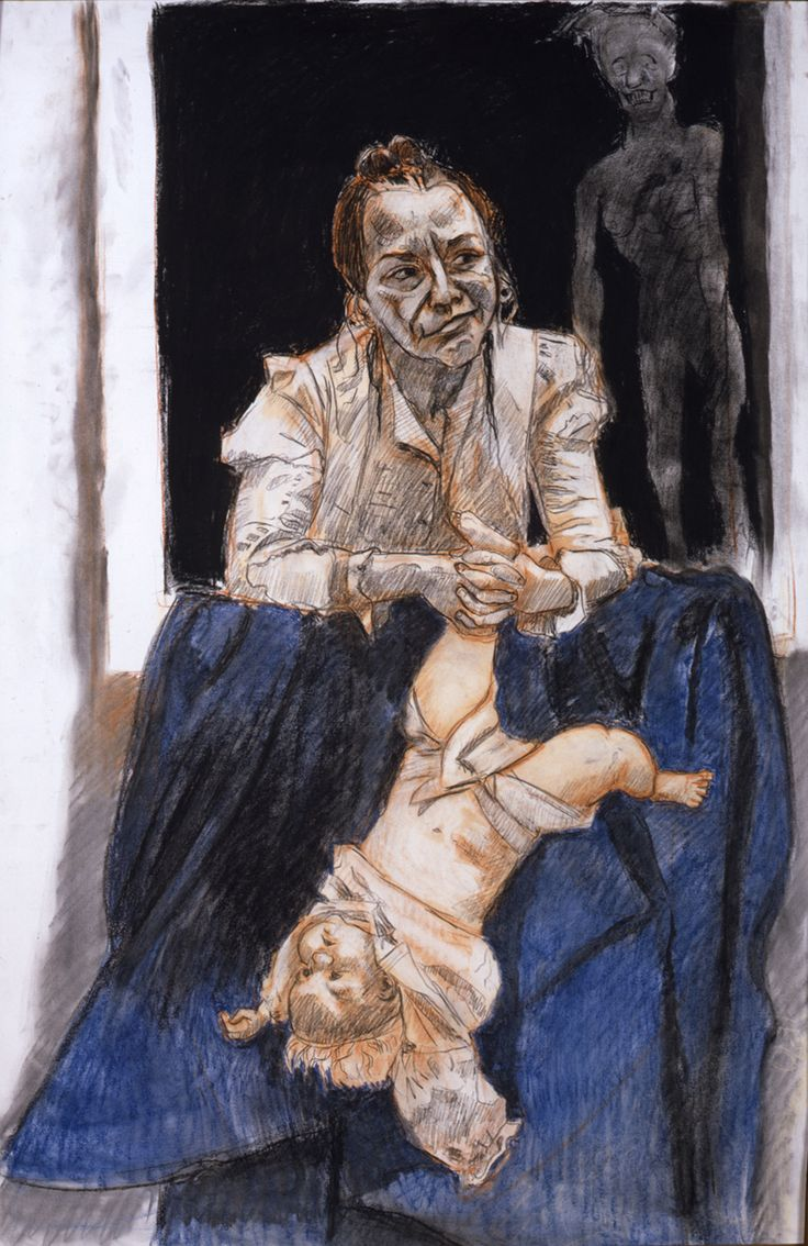 Oratorio_2008-09_top_right_panel_mixed_media_by_Paula_Rego_courtesy_of_the_artist_and_Marlborough_Fine_Art.jpg (800×1233)