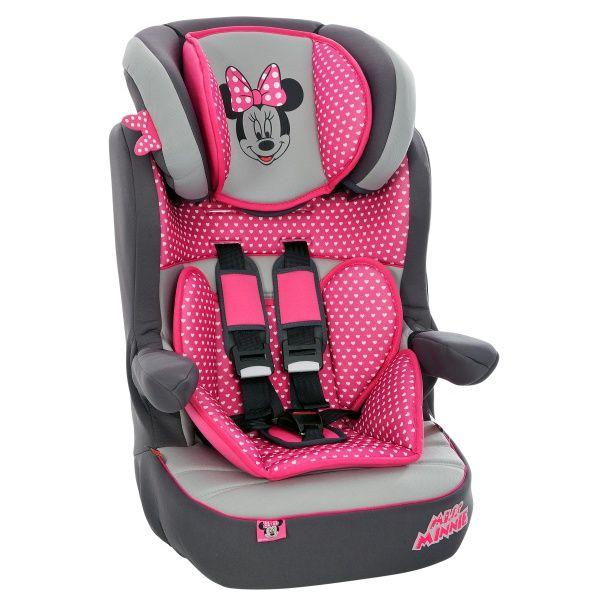 Imax Deluxe Sp Minnie Mouse Group 1 2 3 Car Seat Was 163 69