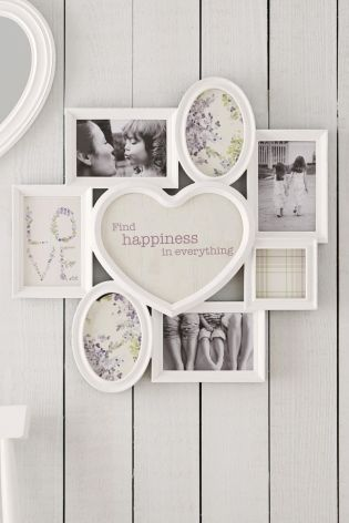 Multi Heart Collage Frame from Next