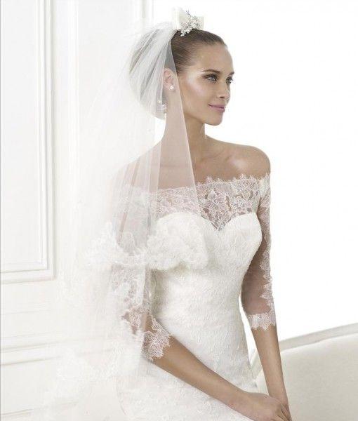 Pronovias Brudklänning - Bellamy, spets