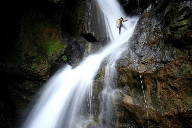 #Canyoning in #Italia: 3 mete per la tua prima avventura!
