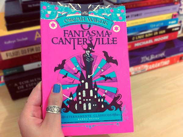 O Fantasma de Canterville, Canterville Ghost, Livros, Oscar Wilde, Books, Reading, Nails
