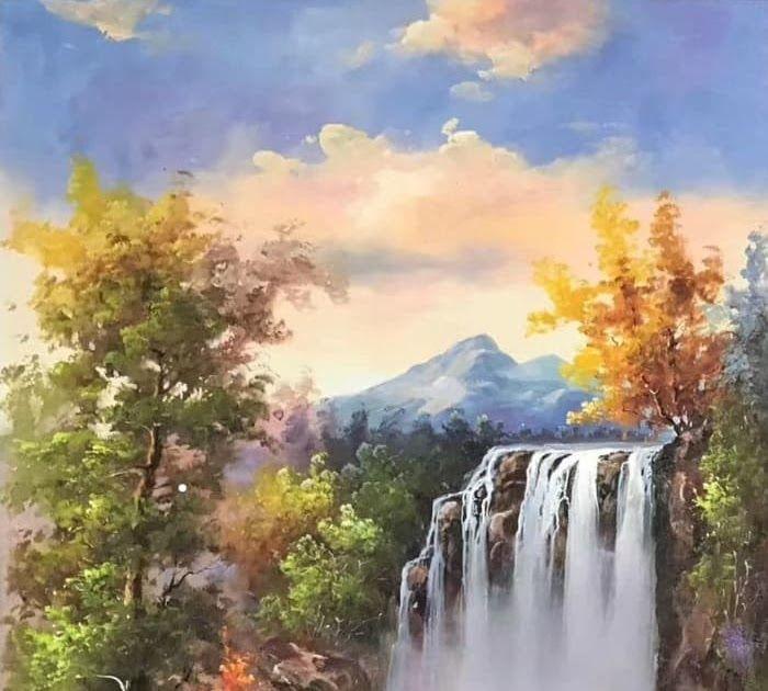 16 Pemandangan Air Terjun Lukisan Pemandangan Air Terjun Yang Indah Cikimm Com Download Gambar Pemandangan Air Ter Di 2020 Air Terjun Pemandangan Fotografi Udara