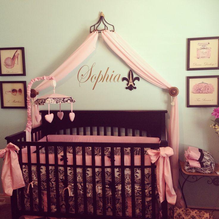 Paris Themed Nursery Decor: French Paris Baby Nursery