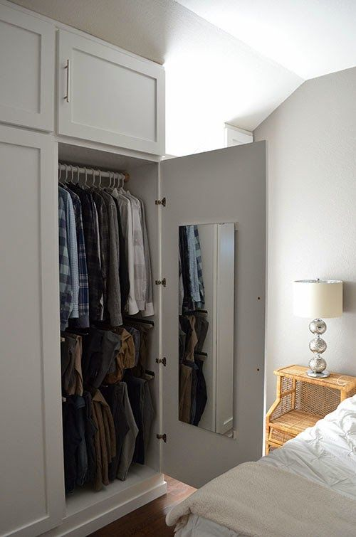 Build A Full Wall Built In Closet From Scratch With Ikea