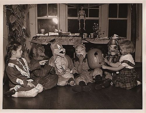 Join us for some nostalgic trick or treating in the 50's via today's blogpost:  http://ilivediloved-blog.blogspot.com/2012/10/how-they-halloweened-in-50s.html