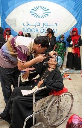 Noor Dubai Foundation has helped 23 million people with eyesight ailments since 2008
