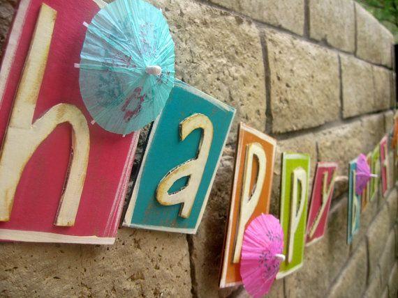 Best 20+ Luau birthday banners ideas on Pinterest | Luau theme ...