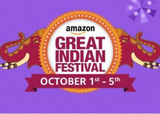 Online Shopping With Discount Coupons: Amazon Great Indian Festival sale