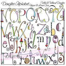 Afbeeldingsresultaat voor dangles alphabet